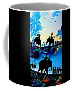 We March At Sunrise  Coffee Mug