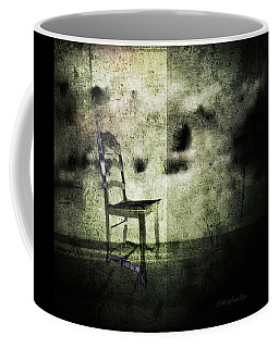Coffee Mug featuring the digital art We Never Did That In Our Family by Delight Worthyn