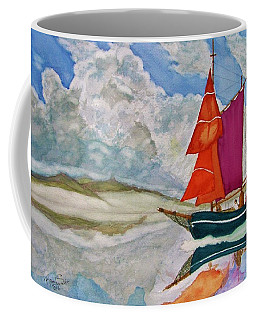 We Sailed Upon A Sea Of Glass Coffee Mug