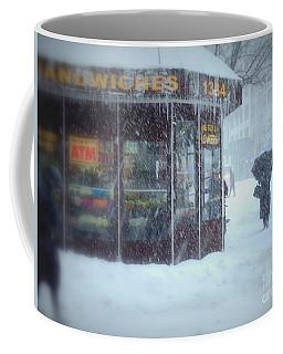 We Sell Flowers - Winter In New York Coffee Mug