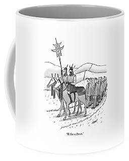 We Sue At Dawn Coffee Mug