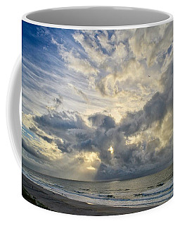 Weather Over Topsail Beach 2977 Coffee Mug