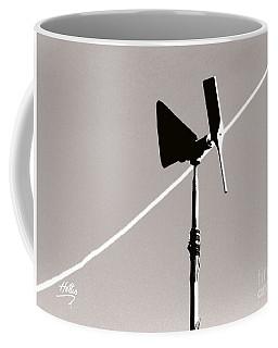 Weather Vane Coffee Mug by Linda Hollis