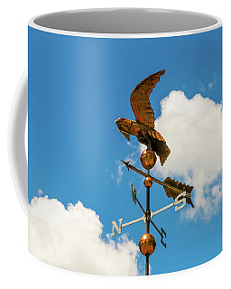 Weather Vane On Blue Sky Coffee Mug