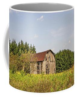 Weathered Barn Basking In The Summer Sun Coffee Mug
