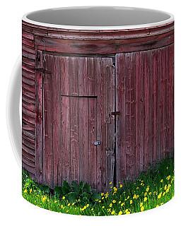 Weathered Barn Spring Coffee Mug by Alan L Graham