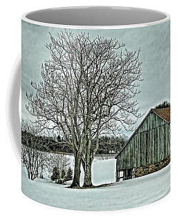 Weathered Coffee Mug by Heather Applegate