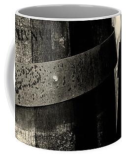 Weathered Old Apple Barrels Coffee Mug by Bob Orsillo