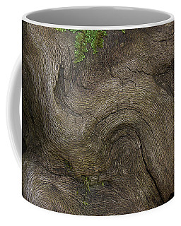 Coffee Mug featuring the photograph Weathered Tree Root by Mike Eingle