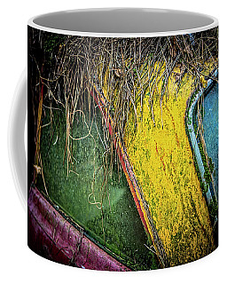 Weathered Vehicle Coffee Mug