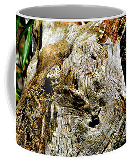 Weathered Wood Coffee Mug