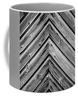 Weathered Wood Coffee Mug by Larry Carr