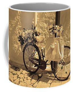 Wedding Bike Coffee Mug