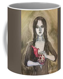 Wednesday Addams  Coffee Mug by Jimmy Adams
