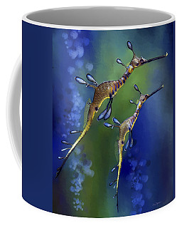 Weedy Sea Dragon Coffee Mug by Thanh Thuy Nguyen