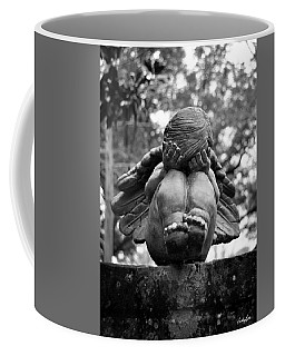 Weeping Child Angel Coffee Mug