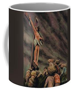 Weeping Children Coffee Mug by Dave Luebbert