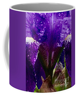 Weeping Iris Now I'm Really Soaked Coffee Mug by Kimberlee Baxter