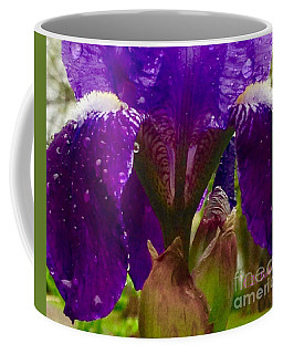 Weeping Iris Puppy Dog Look Coffee Mug by Kimberlee Baxter
