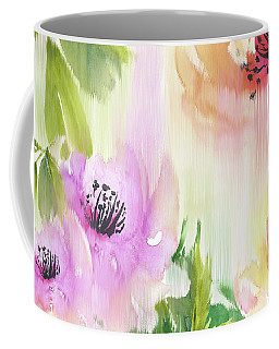 Coffee Mug featuring the painting Weeping Rose Forest by Colleen Taylor