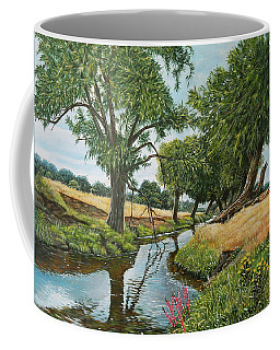 Weeping Willows At Beverley Brook Coffee Mug