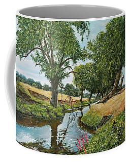 Weeping Willows At Beverley Brook Coffee Mug