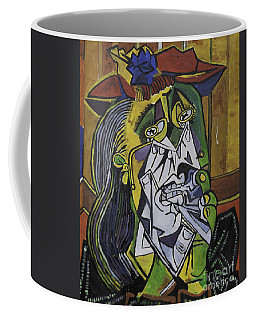 Picasso's Weeping Woman Coffee Mug