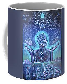 Weighing Of The Heart Coffee Mug