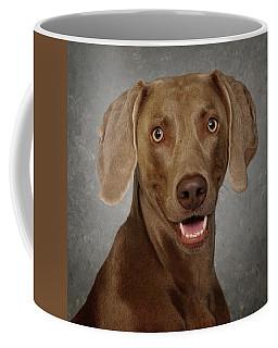 Coffee Mug featuring the photograph Weimaraner by Greg Mimbs