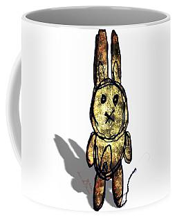 Coffee Mug featuring the digital art Weird Bun by Iowan SF and Ntr HMM
