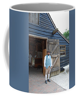 Coffee Mug featuring the photograph Welcome by Eric Liller