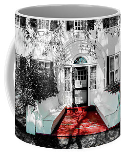 Coffee Mug featuring the photograph Welcome by Greg Fortier