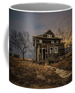 Coffee Mug featuring the photograph Welcome Home by Aaron J Groen