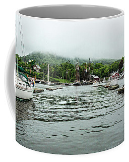 Coffee Mug featuring the photograph Welcome Home Skip by Daniel Hebard
