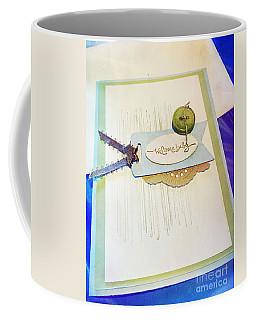 Welcome New Baby Handmade Stationary Coffee Mug by Vizual Studio