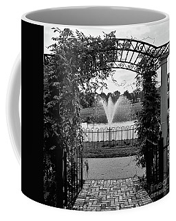 Coffee Mug featuring the photograph Welcome by Robert Knight
