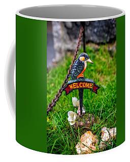 Welcome Sign Coffee Mug