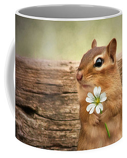 Coffee Mug featuring the photograph Welcome Spring by Lori Deiter