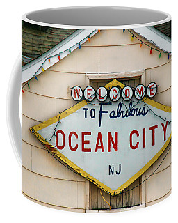 Welcome To Fabulous Ocean City N J Coffee Mug