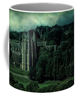 Coffee Mug featuring the photograph Welcome To Wizardry School by Chris Lord