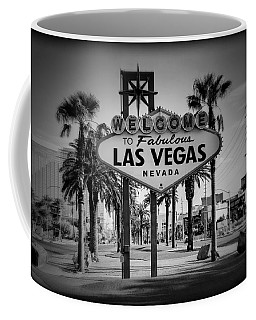 Welcome To Las Vegas Series Holga Black And White Coffee Mug