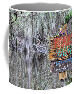 Coffee Mug featuring the photograph Welcome To Louisiana by JC Findley