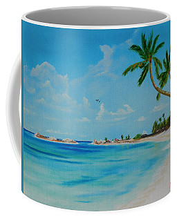 Welcome To Paradise Coffee Mug