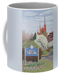 Welcome To Portland Coffee Mug