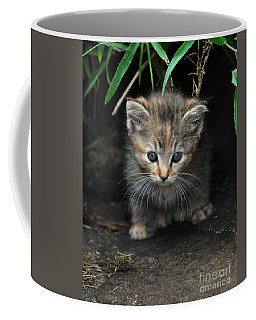 Welcome To The Jungle Coffee Mug by Eric Liller