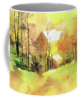 Welcome Winter Coffee Mug