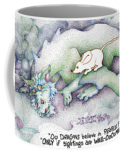 Well Documented Fpi Editorial Cartoon Coffee Mug