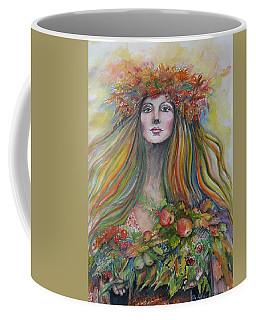 Welcome To Autumn Coffee Mug by Rita Fetisov
