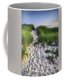 Wellfleet Beach Path Coffee Mug by Tammy Wetzel