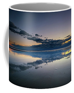Coffee Mug featuring the photograph Wells Beach Reflections by Rick Berk